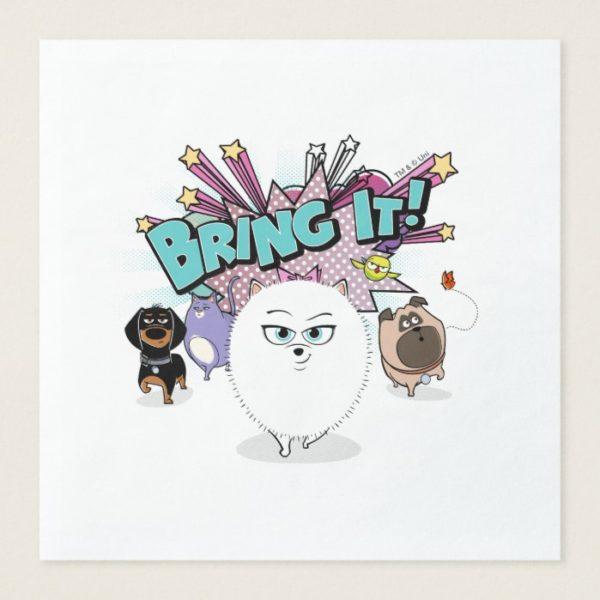 Secret Life of Pets | Bing It! Paper Dinner Napkin