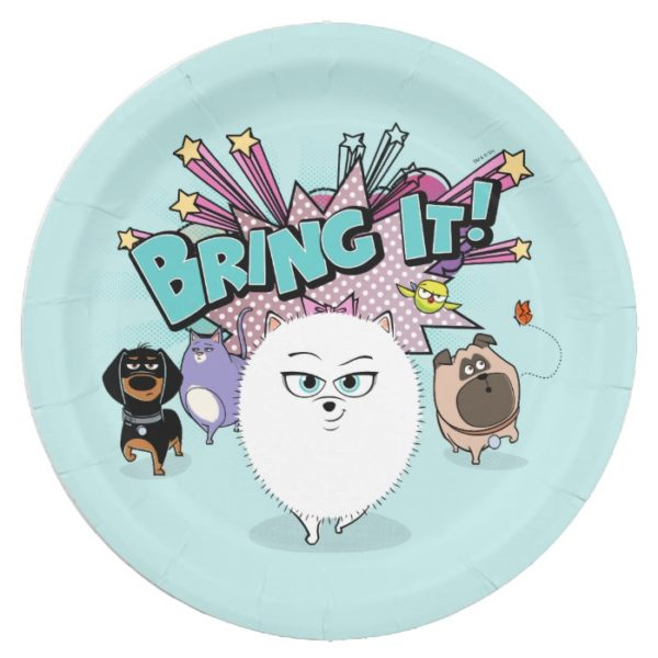 Secret Life of Pets   Bing It! Paper Plate