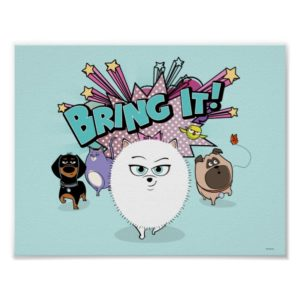 Secret Life of Pets | Bing It! Poster