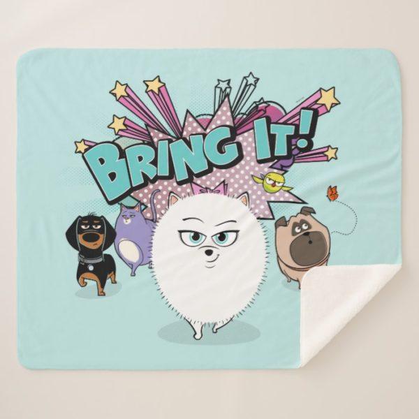 Secret Life of Pets | Bing It! Sherpa Blanket