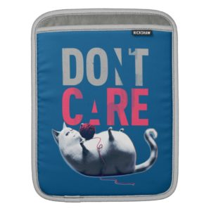 Secret Life of Pets - Chloe | Don't Care iPad Sleeve