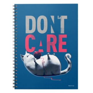 Secret Life of Pets - Chloe   Don't Care Notebook