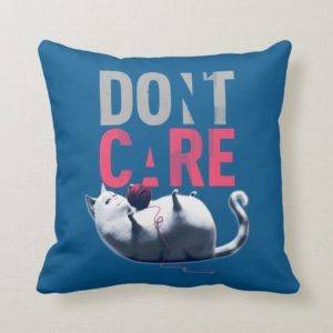 Secret Life of Pets - Chloe | Don't Care Throw Pillow
