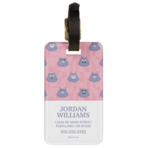 Secret Life of Pets - Chloe Pattern Bag Tag