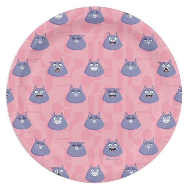 Secret Life of Pets - Chloe Pattern Paper Plate