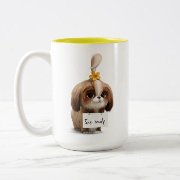 Secret Life of Pets   Daisy - She Ready Two-Tone Coffee Mug
