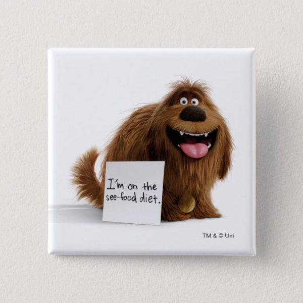 Secret Life of Pets | Duke See-Food Diet Button