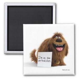 Secret Life of Pets | Duke See-Food Diet Magnet