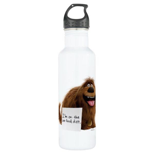 Secret Life of Pets   Duke See-Food Diet Stainless Steel Water Bottle