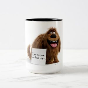 Secret Life of Pets | Duke See-Food Diet Two-Tone Coffee Mug