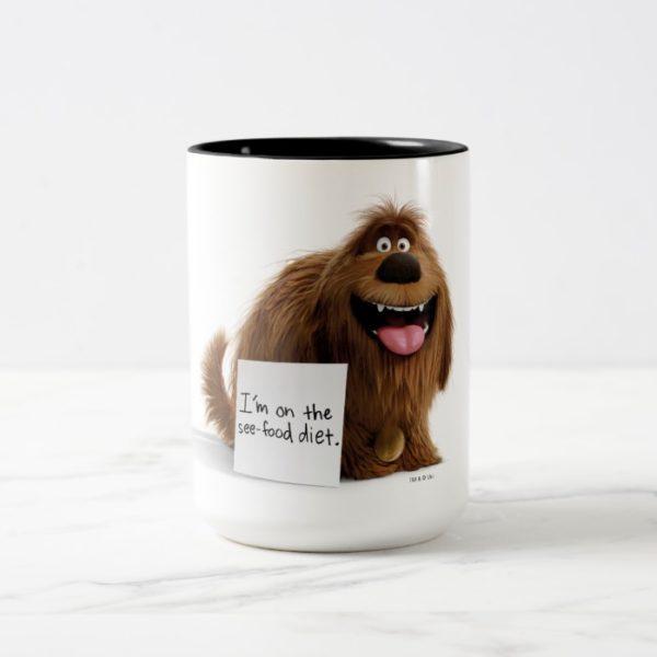 Secret Life of Pets   Duke See-Food Diet Two-Tone Coffee Mug