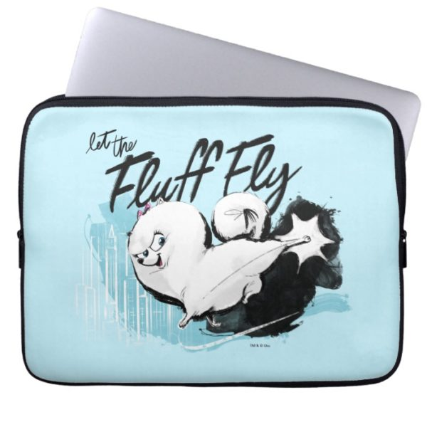 Secret Life of Pets - Gidget | Let the Fluff Fly Computer Sleeve