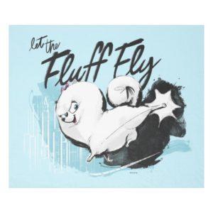 Secret Life of Pets - Gidget | Let the Fluff Fly Fleece Blanket