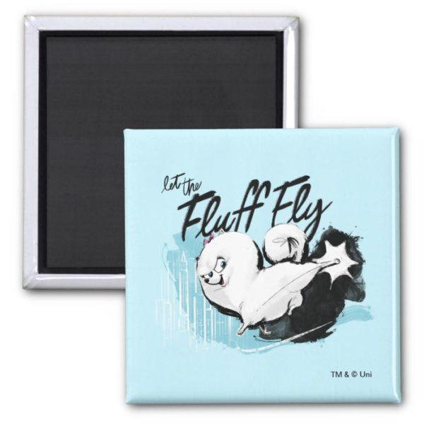 Secret Life of Pets - Gidget | Let the Fluff Fly Magnet