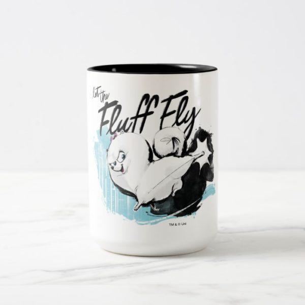 Secret Life of Pets - Gidget | Let the Fluff Fly Two-Tone Coffee Mug