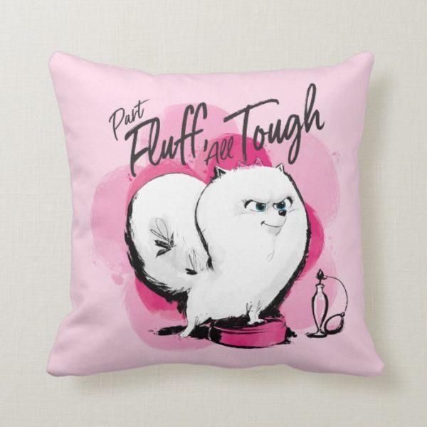 Secret Life of Pets - Gidget | Part Fluff Throw Pillow