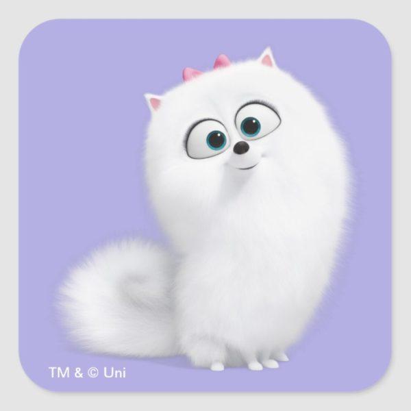 Secret Life of Pets - Gidget Square Sticker