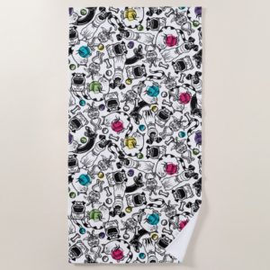 Secret Life of Pets Happy Pattern Beach Towel