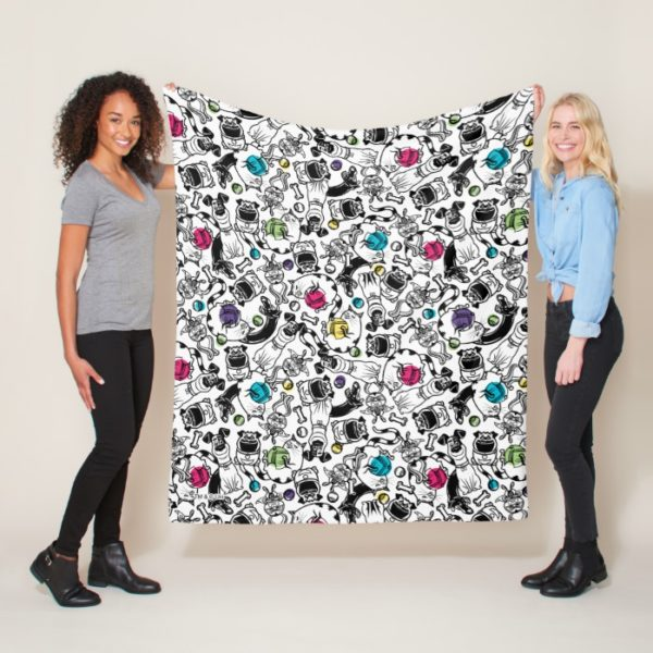 Secret Life of Pets Happy Pattern Fleece Blanket