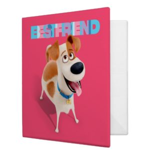 Secret Life of Pets - Max | Best Friend 3 Ring Binder