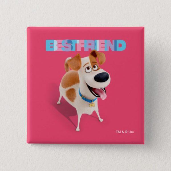 Secret Life of Pets - Max   Best Friend Button