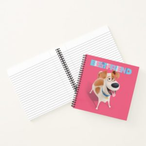 Secret Life of Pets - Max   Best Friend Notebook