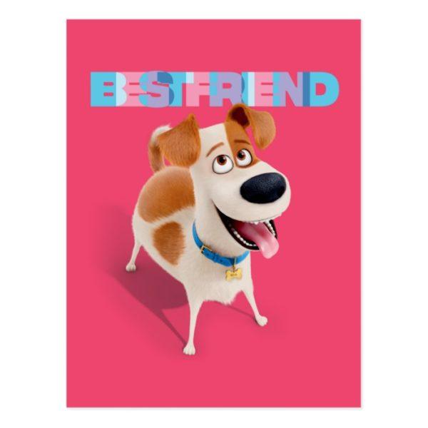 Secret Life of Pets - Max   Best Friend Postcard