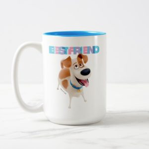 Secret Life of Pets - Max | Best Friend Two-Tone Coffee Mug