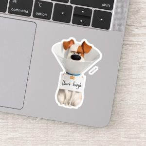 Secret Life of Pets | Max - Don't Laugh Sticker