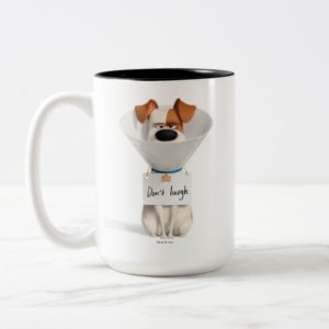 Secret Life of Pets | Max - Don't Laugh Two-Tone Coffee Mug