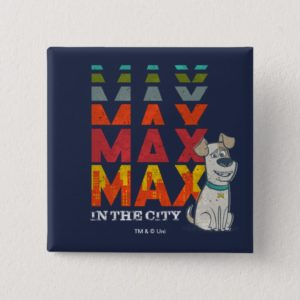 Secret Life of Pets - Max in the City Button