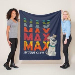 Secret Life of Pets - Max in the City Fleece Blanket