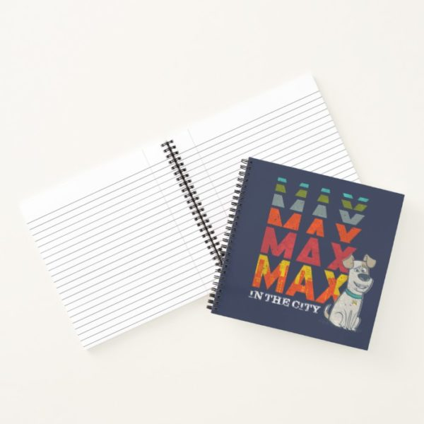 Secret Life of Pets - Max in the City Notebook