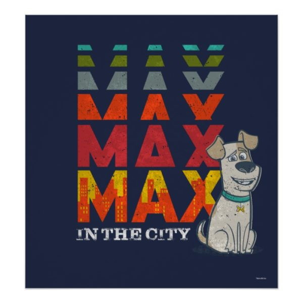 Secret Life of Pets - Max in the City Poster
