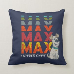 Secret Life of Pets - Max in the City Throw Pillow