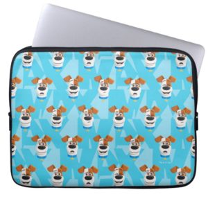 Secret Life of Pets - Max Pattern Computer Sleeve