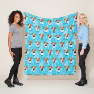 Secret Life of Pets - Max Pattern Fleece Blanket