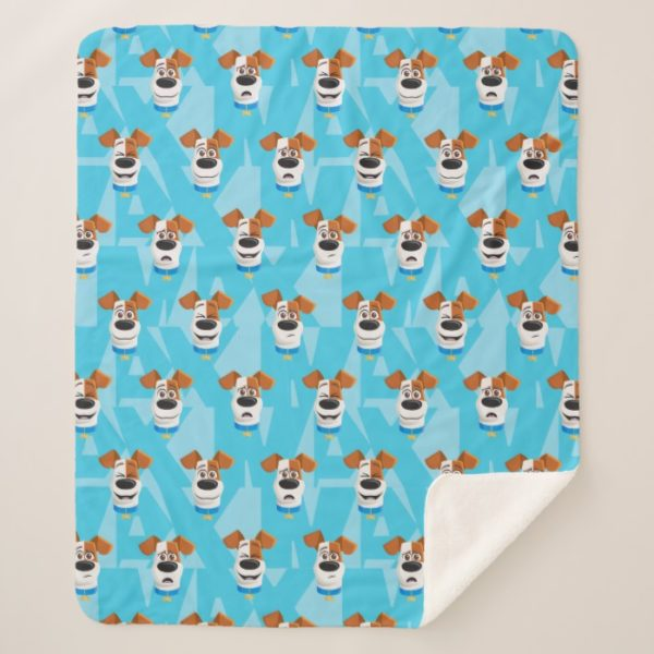 Secret Life of Pets - Max Pattern Sherpa Blanket