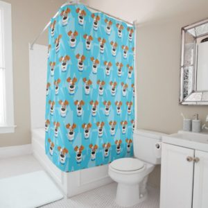 Secret Life of Pets - Max Pattern Shower Curtain