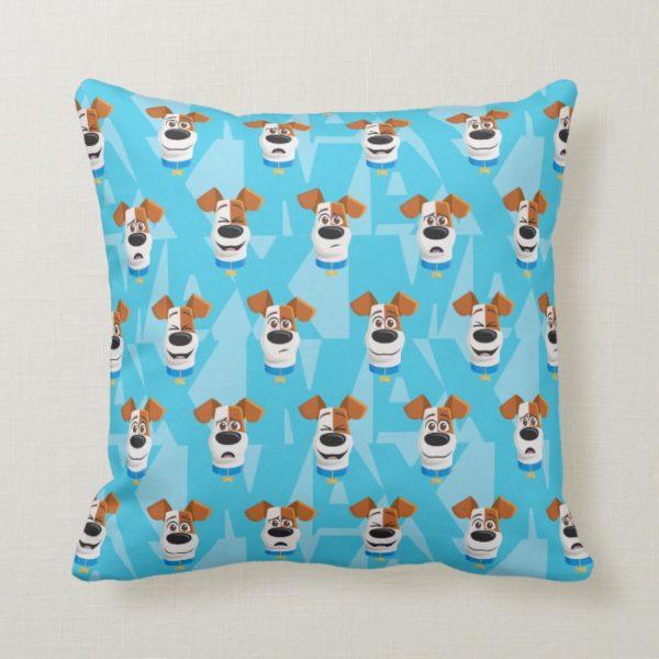 Secret Life of Pets - Max Pattern Throw Pillow