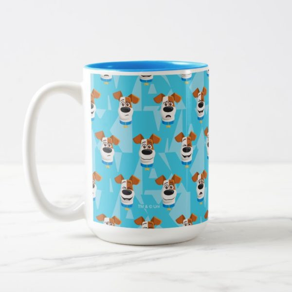 Secret Life of Pets - Max Pattern Two-Tone Coffee Mug