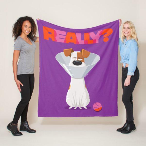 Secret Life of Pets - Max | Really? Fleece Blanket
