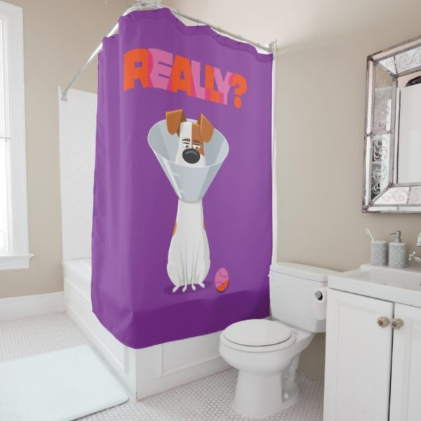Secret Life of Pets - Max | Really? Shower Curtain