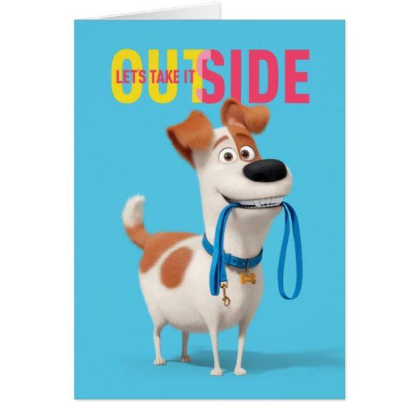 Secret Life of Pets - Max | Take it Outside
