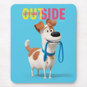 Secret Life of Pets - Max | Take it Outside Mouse Pad