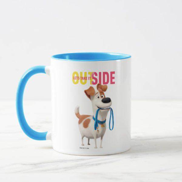 Secret Life of Pets - Max   Take it Outside Mug