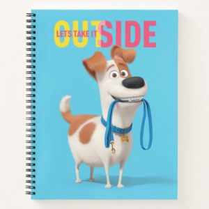 Secret Life of Pets - Max   Take it Outside Notebook