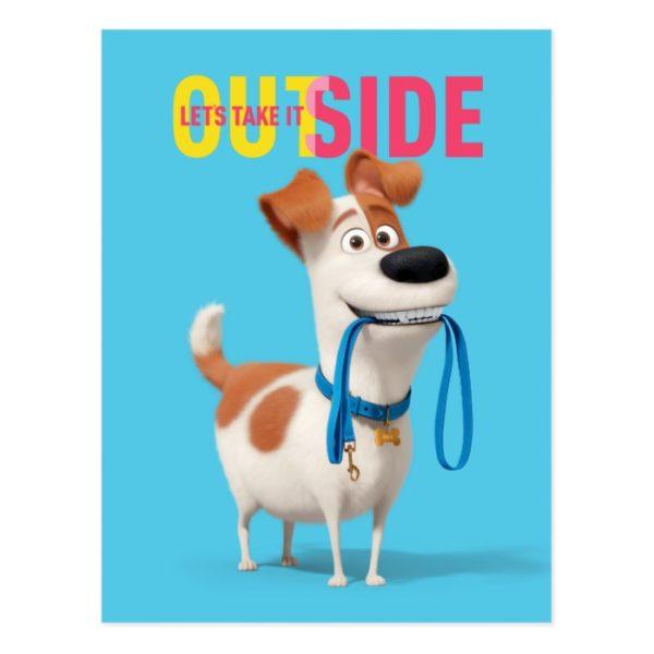 Secret Life of Pets - Max | Take it Outside Postcard