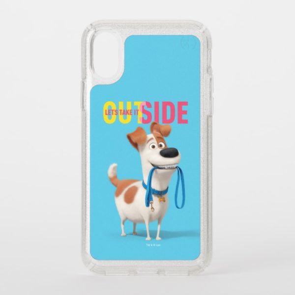 Secret Life of Pets - Max   Take it Outside Speck iPhone Case