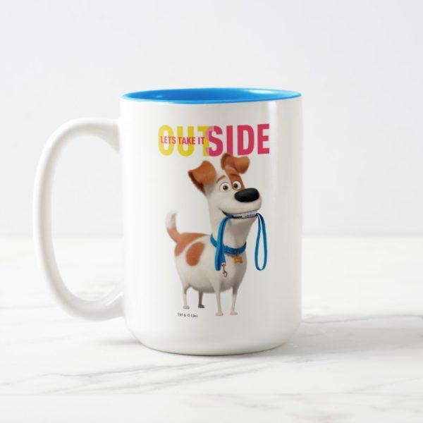 Secret Life of Pets - Max   Take it Outside Two-Tone Coffee Mug